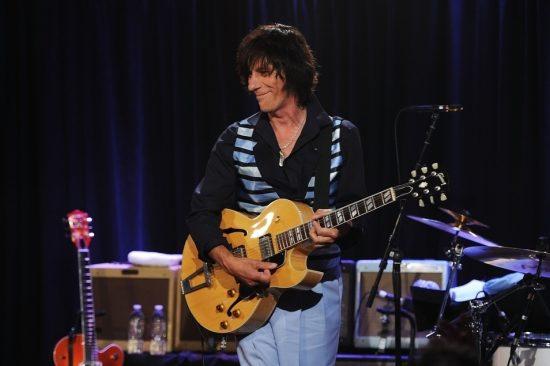 Jeff Beck at Iridium Jazz Club image 0