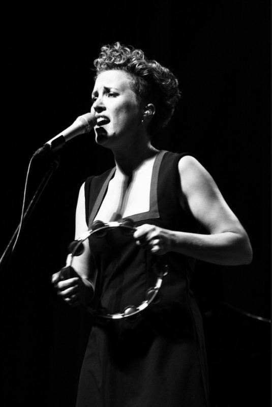 Beate S. Lech of Beady Belle in Congress Centre at 2011 Riga Jazz Festival