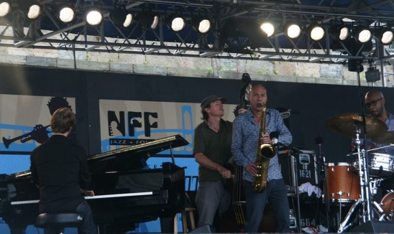 James Farm performing at the 2011 Newport Jazz Festival