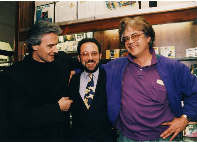 John McLaughlin, Richie OKon and Larry Coryell at the Blue Note in New York City