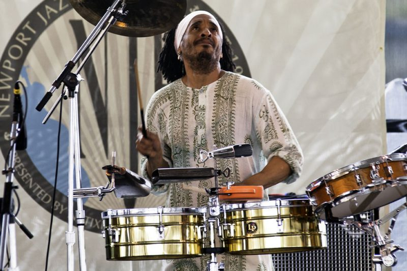 Jose Claussel performing at the 2011 Newport Jazz Festival