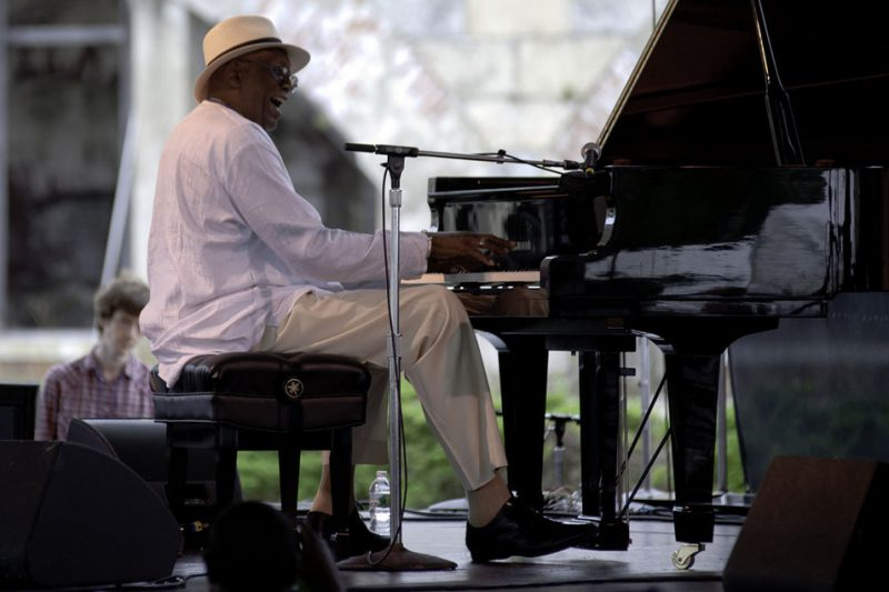 Randy Weston performing at the 2011 Newport Jazz Festival