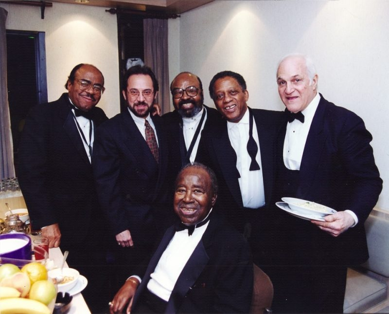 Richie OKon with the Golden Men of Jazz at the Blue Note