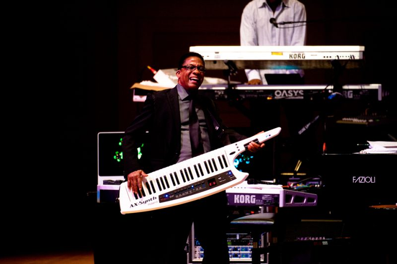 Herbie Hancock celebrates his 70th at Carnegie Hall; June 24, 2010