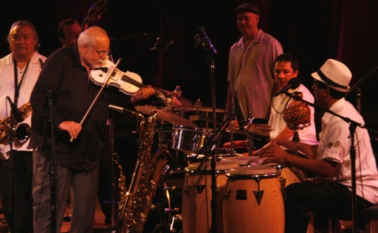 Federico Britos joins John Santos' band at the 2011 Tanglewood Jazz