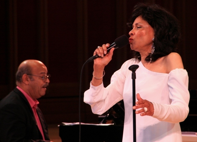 Singer Mary Stallings and pianist Llew Matthews at the 2011 Tanglewood Jazz Festival