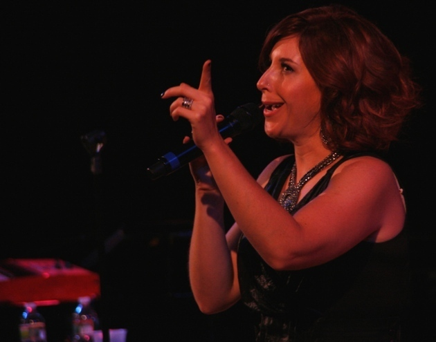 Singer Robin McKelle at the 2011 Tanglewood Jazz Festival