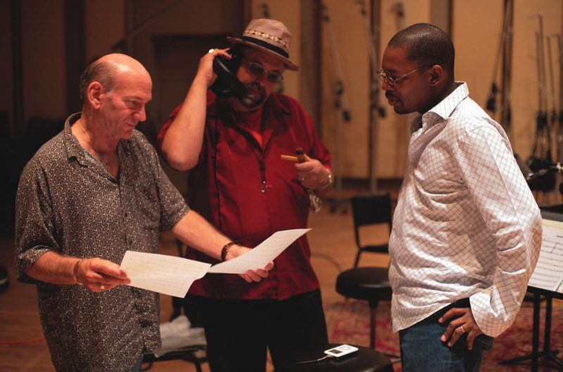 Saxophone Summit, L-R: David Liebman, Joe Lovano and Ravi Coltrane
