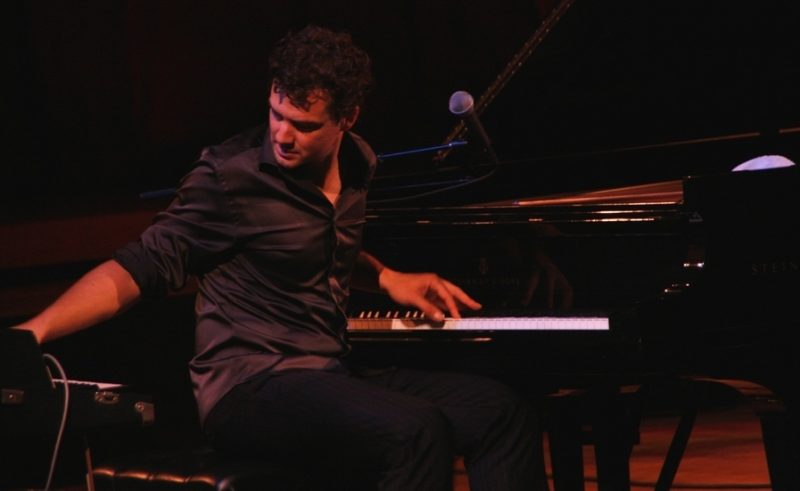 Singer-pianist Michael Kaeshammer at the 2011 Tanglewood Jazz Festival