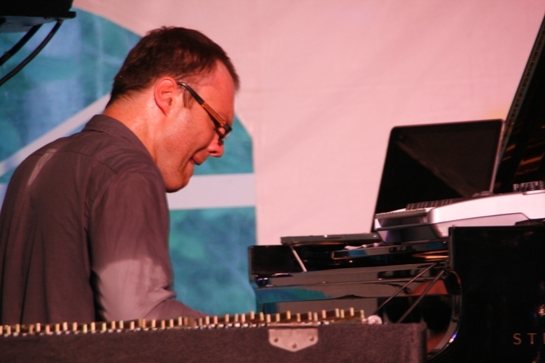 Cedric Hanriot  in the 2011 Tanglewood Jazz Festival's Jazz Cafe