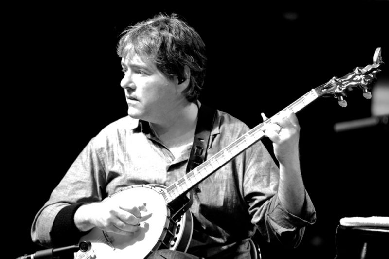 Bela Fleck in performance at Litchfield Jazz Festival 2010