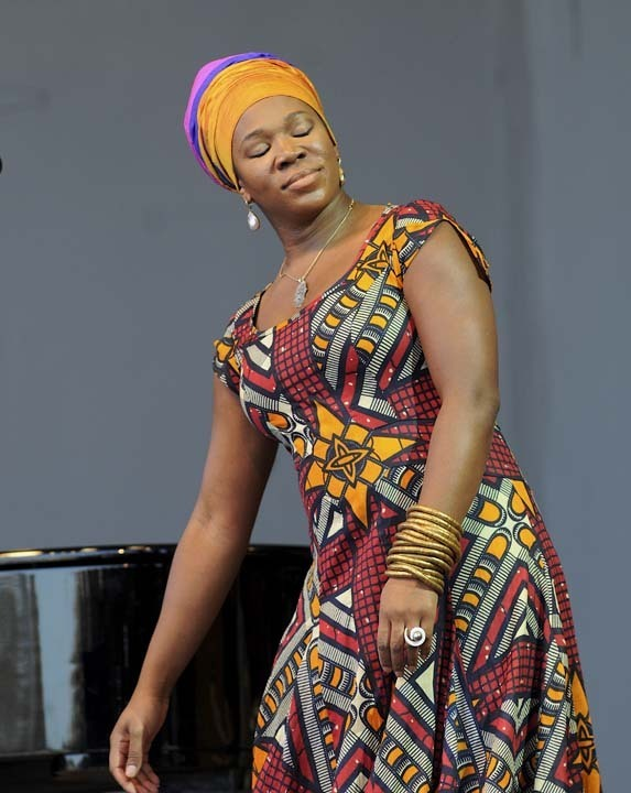india.arie in performance at 2011 Monterey Jazz Festival
