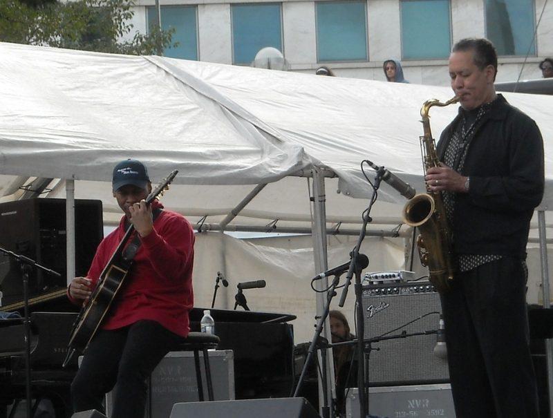 Kevin Eubanks at the 2011 Detroit Jazz Festival