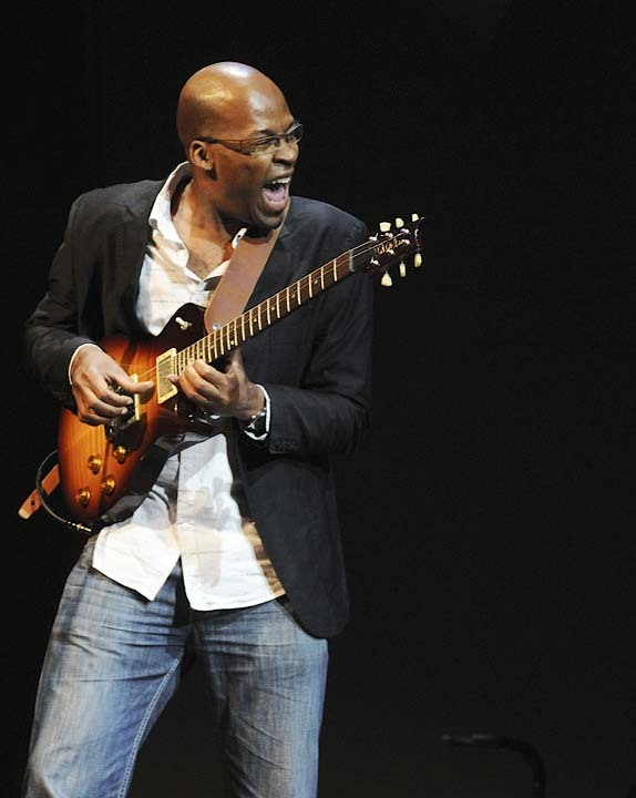Lionel Loueke\ in performance at 2011 Monterey Jazz Festival