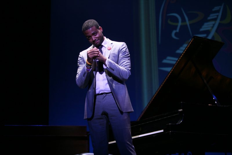 2011 Monk piano competition winner Kris Bowers