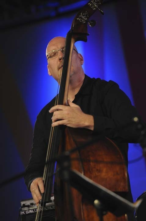 Scott Colley in performance at 2011 Monterey Jazz Festival
