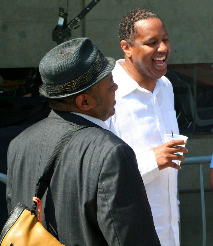 "Jeff ""Tain"" Watts and Robert Hurst at 2011 Detroit Jazz Festival"