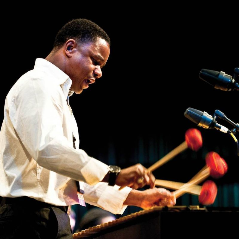 Stefon Harris performing at 2009 JEN Conference.