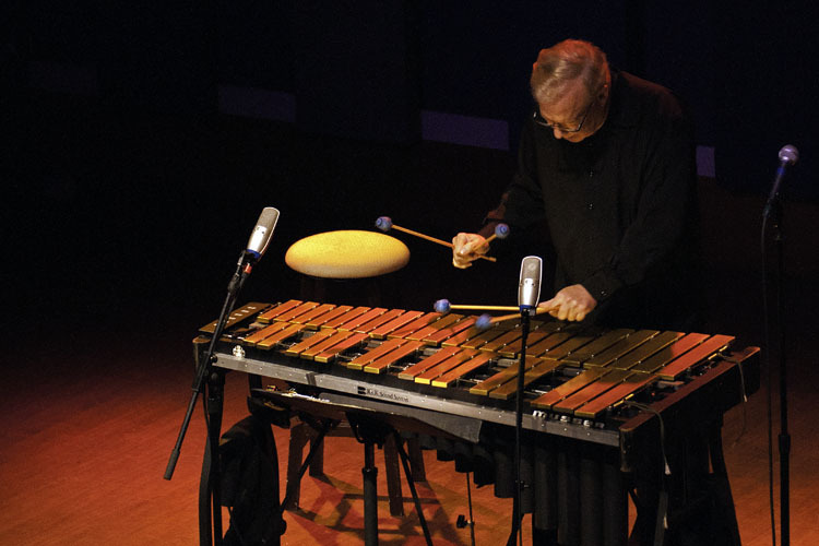 Gary Burton in performance at World Cafe Live in Philadelphia