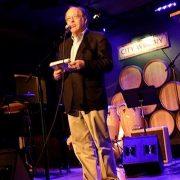 Gary Giddins at JJA awards in NYC image 0