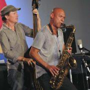 Matt Penman and Joshua Redman in performance at 2011 Monterey Jazz Festival image 0