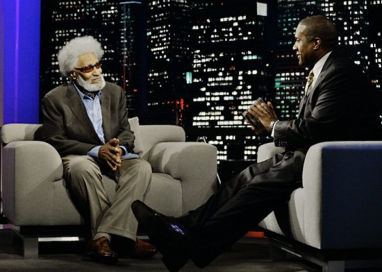 Sonny Rollins with Tavis Smiley image 0