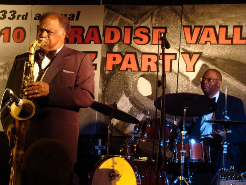 Saxophonist Houston Person and Phoenix-born drummer Lewis Nash  will  perform again at the 2011 Paradise Valley Jazz Party.