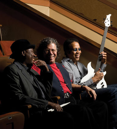 Lenny White, Chick Corea and Stanley Clarke