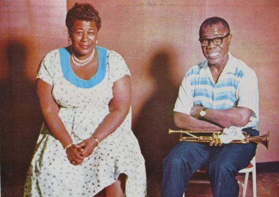 Ella Fitzgerald and Louis Armstrong image 0