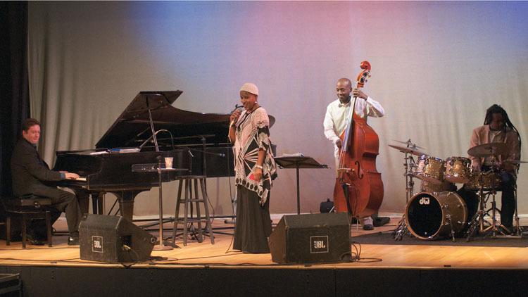 Rene Marie Quartet in performance at Appel Farm in Elmer, NJ