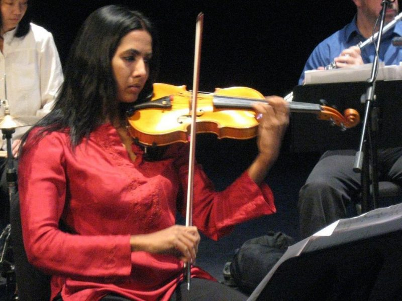 Shalini Vijayan in performance of Ten Freedom Summers in October 2011