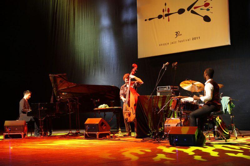 Vijay Iyer, Stephan Crump, Marcus Gilmore, Skopje Jazz Festival, Oct. 2011
