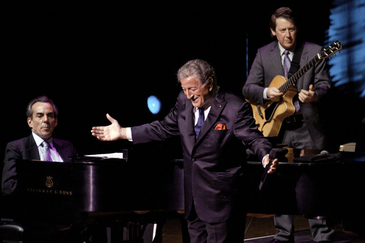 Tony Bennett in performance on November 4, 2011 at Academy of Music in Philadelphia