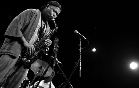 Steve Coleman in performance at 2011 London Jazz Festival image 0
