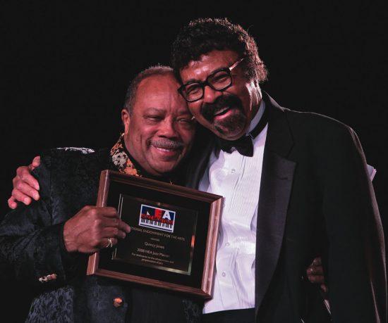 NEA Jazz Masters Quincy Jones and David Baker image 0