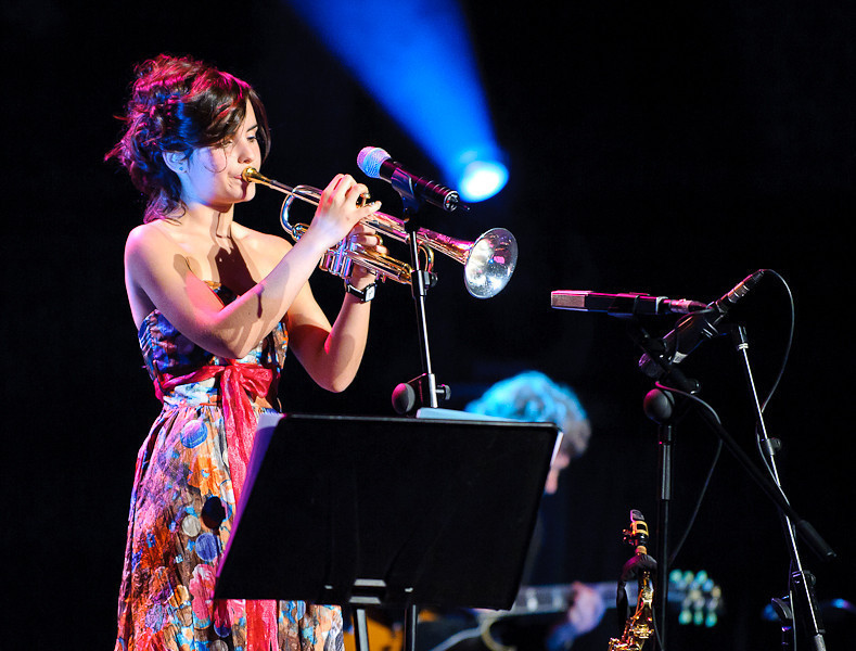 Andrea Motis at the 2011 Barcelona International Jazz Festival