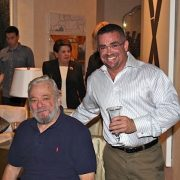 Anthony deMare and Stephen Sondheim image 0