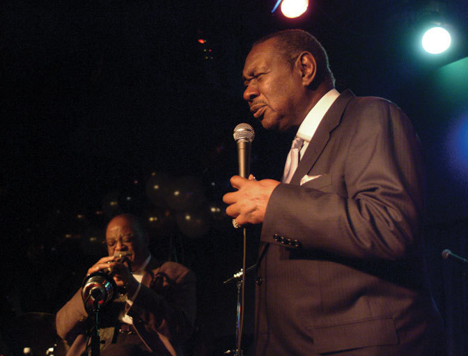 Freddy Cole and Clark Terry in 2003
