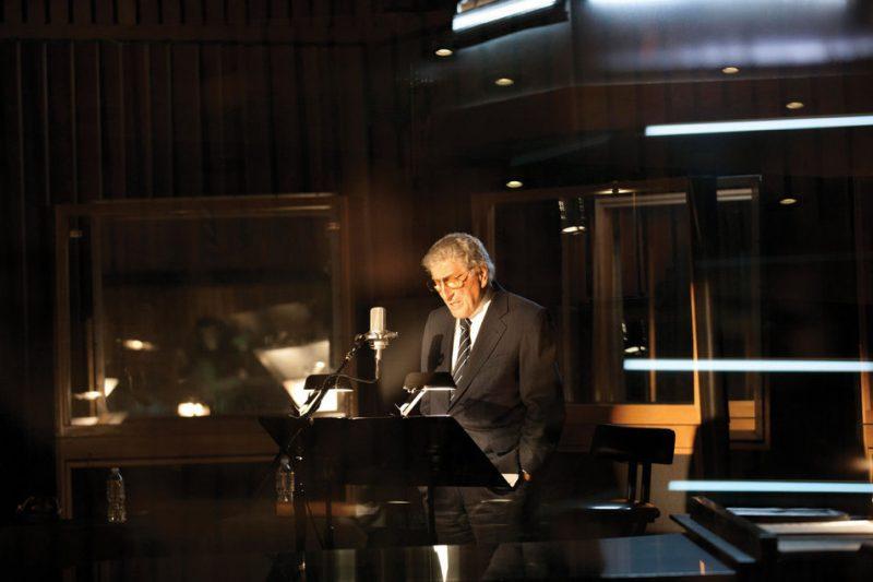 Tony Bennett at L.A.'s Capitol Studios, February 2011