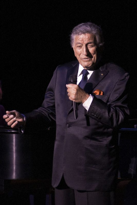 Tony Bennett in performance on November 4, 2011 at Academy of Music in Philadelphia