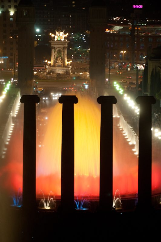 Magic Fountain in Barcelona