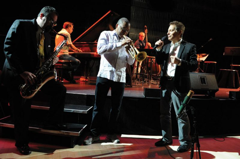 Wynton Marsalis and Michael Feinstein at Jazz at Lincoln Center
