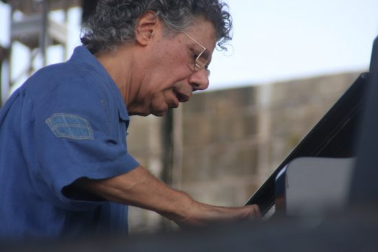 Chick Corea performing with his Freedom Band at CareFusion Newport Jazz Festival 2010 image 0
