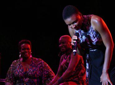 Angelique Kidjo, Dianne Reeves and Lizz Wright in Newark, N.J.