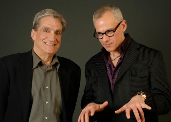 Robert Pinsky and Laurence Hobgood image 0