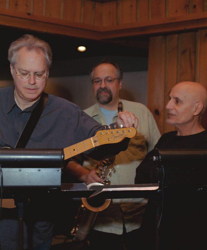 Bill Frisell, Joe Lovano and Paul Motian