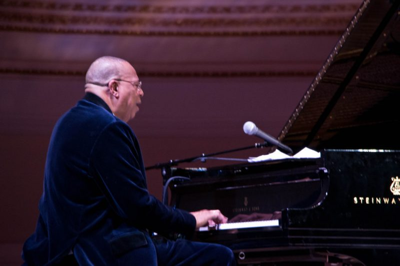 Chucho Valdés at Carnegie Hall, 1/12