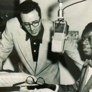 Pete Rugolo with Nat King Cole image 0