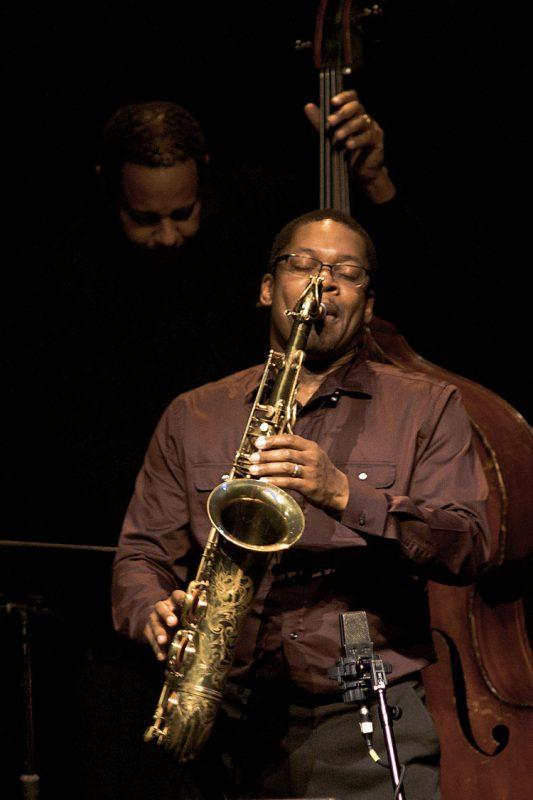 Ravi Coltrane in performance at Zellerbach Theatre in Philadelphia