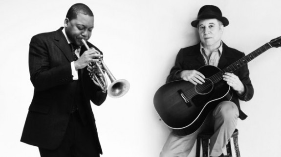 Wynton Marsalis and Paul Simon